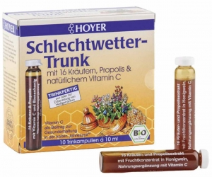 HOYER Schlechtwetter Trunk Trinkampullen 100ml