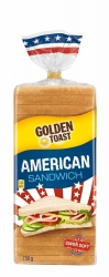 Golden Toast American Sandwich 750g
