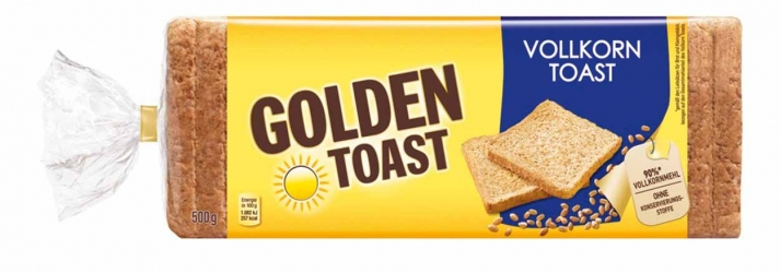 Golden Toast Vollkorn Toast 500g