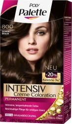 Poly Palette Intensiv-Creme-Coloration 800 Dunkelbraun