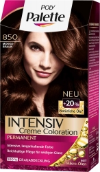Poly Palette Intensiv-Creme-Coloartion 850 Mokkabraun