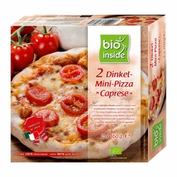 Bio inside Dinkel-Mini-Pizza ¨Caprese¨ 2x160g