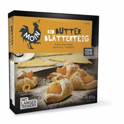 Moin Bio Backwaren Bio Butter Blätterteig 6x50g