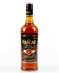 Old Pascas Barbados Dark Rum 37,5% 0,7l